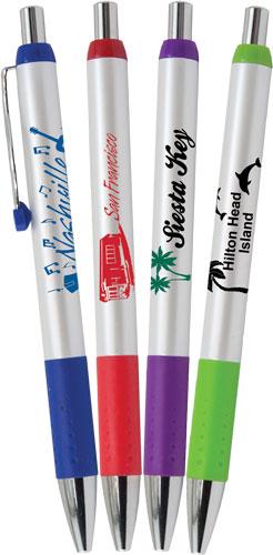 Aspen Personalized Pen - 1 Color Imprint