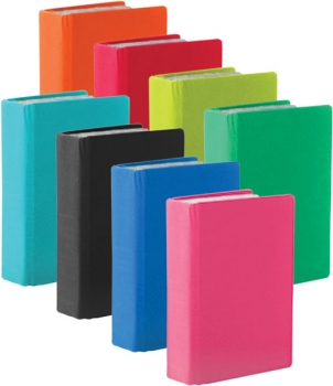 "Assorted Solid Color 8"" x 10"" Stretchable Book Covers"